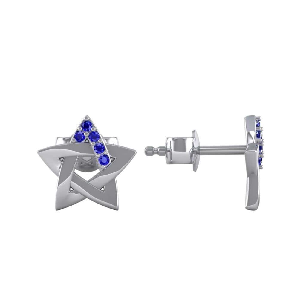 E42518 3 Render 1 01 Camera2 Stone 3 Blue Sapphire 0 Floor 0 Metal 4 White Gold 0 Emitter Aqua Light 0