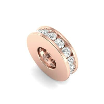 Round-Cut Diamond Spacer Bead (0.26 Carat)