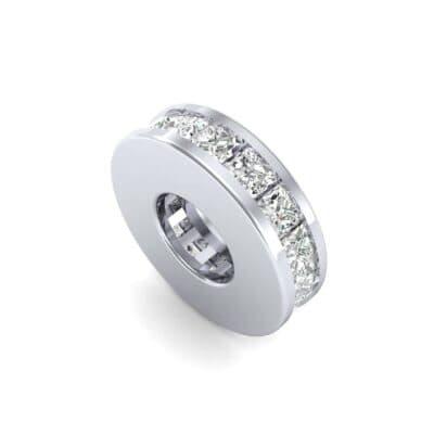 Princess-Cut Diamond Spacer Bead (0.39 Carat)