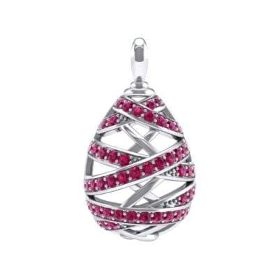 Crisscross Ruby Pendant (2.3 Carat)
