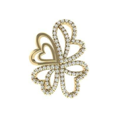Clover Hearts Diamond Pendant (0.75 Carat)