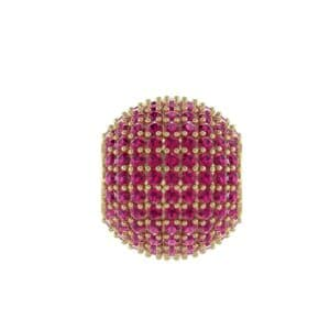 Full Pave Ruby Ball Charm (2.19 Carat)