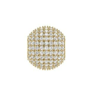 Full Pave Diamond Ball Charm (1.17 Carat)