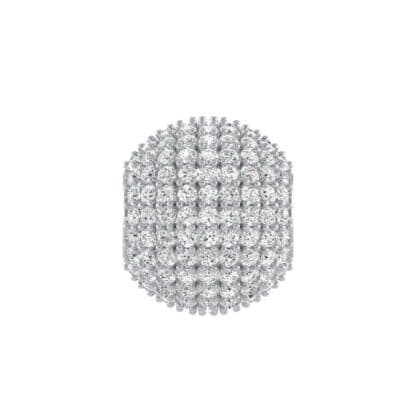 Full Pave Diamond Ball Charm (1.17 Carat)