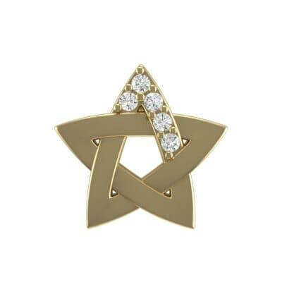 Pentagram Diamond Pendant (0.05 Carat)