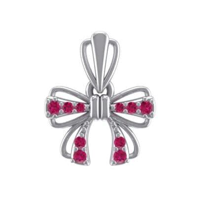 Bow Ruby Pendant (0.16 Carat)