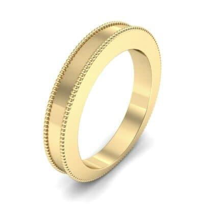 Flat Milgrain Ring