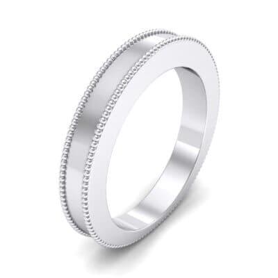 Flat Milgrain Ring (0 CTW)
