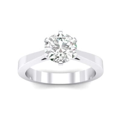 Solitaire Crystals Engagement Ring (0.51 Carat)