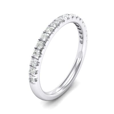 Pave Crystals Ring (0.28 Carat)