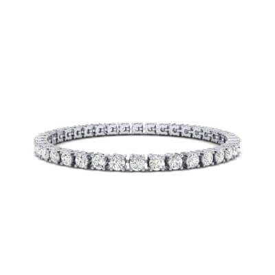 Round Brilliant Diamond Tennis Bracelet (7.98 Carat)