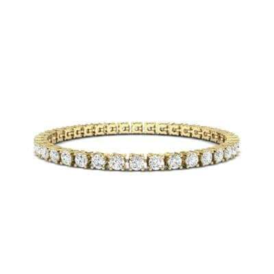Round Brilliant Diamond Tennis Bracelet (7.98 Carat)