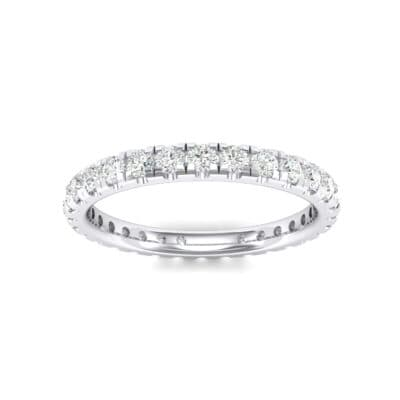 Pave Crystals Eternity Ring