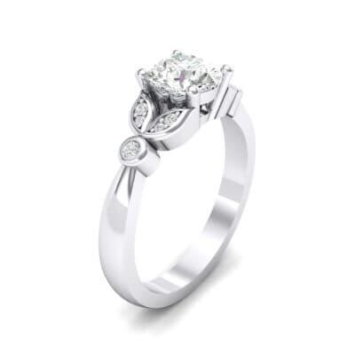Gardenia Crystals Engagement Ring (0.46 Carat)