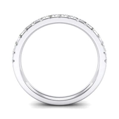 Pave Diamond Ring (0.34 CTW) Side View