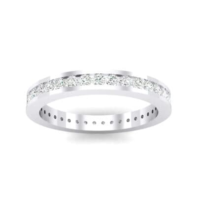 Channel-Set Crystals Eternity Ring (1.11 Carat)