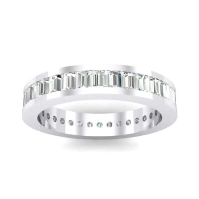 Channel-Set Baguette Crystals Eternity Ring (2.04 Carat)
