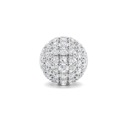Full Pave Crystals Ball Charm