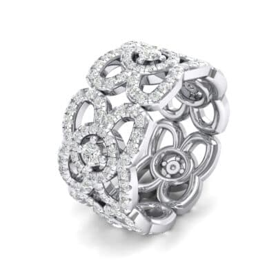 Duchess Cutout Crystals Ring