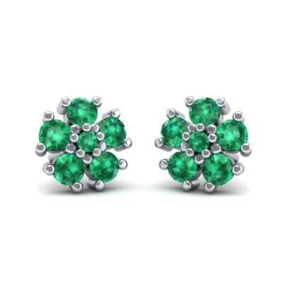 Petunia Emerald Earrings (0.43 Carat)