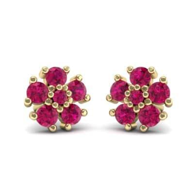 Petunia Ruby Earrings (0.43 Carat)