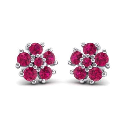 Petunia Ruby Earrings (0.43 Carat)