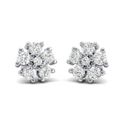 Petunia Diamond Earrings (0.43 Carat)