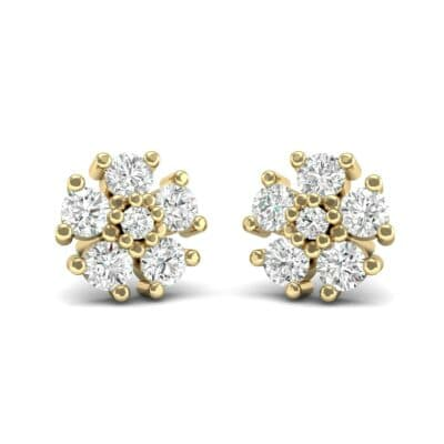 Petunia Diamond Earrings (0.43 Carat)