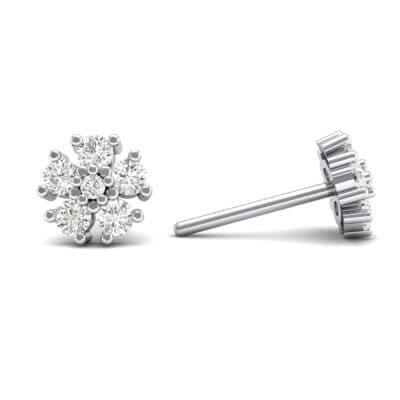 Petunia Crystal Earrings (0 CTW) Top Dynamic View