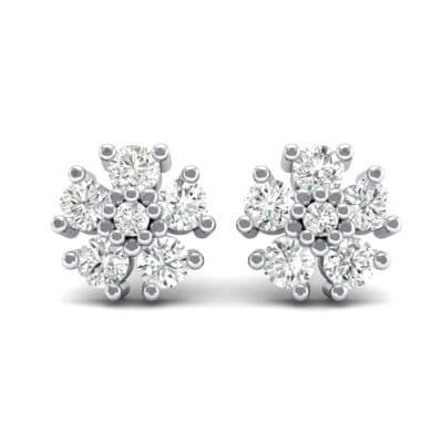 Petunia Crystal Earrings (0 CTW) Side View