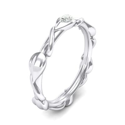 Honeysuckle Vine Diamond Ring (0.25 Carat)