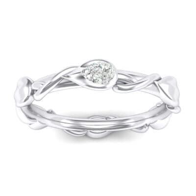 Honeysuckle Vine Crystals Ring