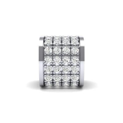Pave Diamond Drum Charm (0.36 Carat)