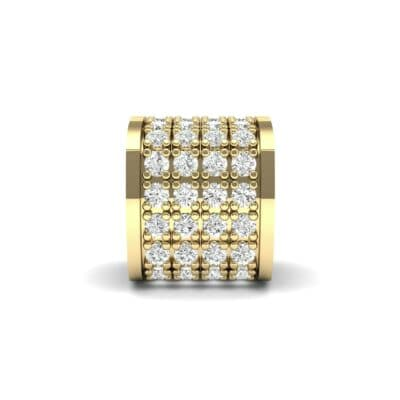 Pave Diamond Drum Charm (0.36 Carat)