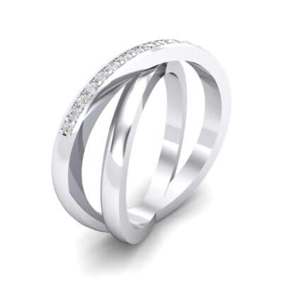 Crisscross Crystal Ring (0.17 CTW)