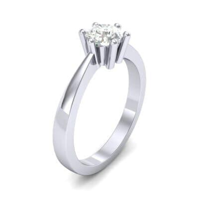 Six-Prong Diamond Engagement Ring (0.93 Carat)