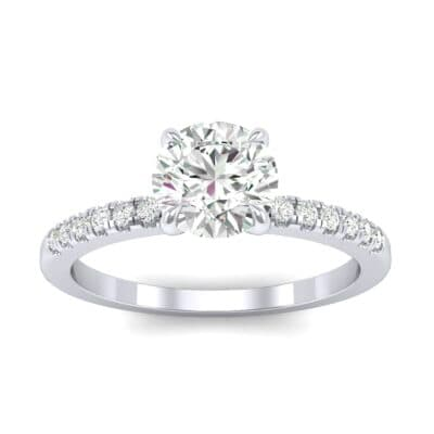 Channel-Set Diamond Ring (0.23 Carat)