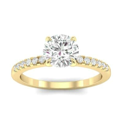Channel-Set Diamond Ring (0.23 Carat)