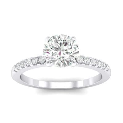 Channel-Set Crystal Ring (0.23 CTW) Top Dynamic View
