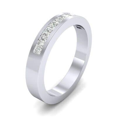 Channel-Set Princess-Cut Diamond Ring (0.6 Carat)
