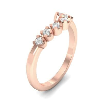Seven-Stone Constellation Diamond Ring (0.21 Carat)