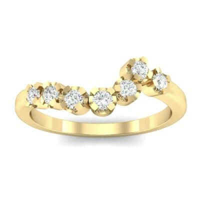 Seven-Stone Constellation Diamond Ring (0.21 Carat)