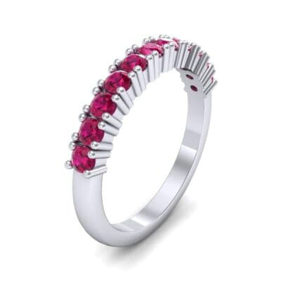 Arielle Prong-Set Ruby Ring (0.44 Carat)