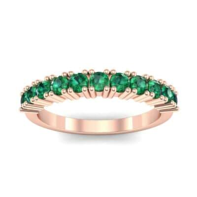 Arielle Prong-Set Emerald Ring (0.44 Carat)