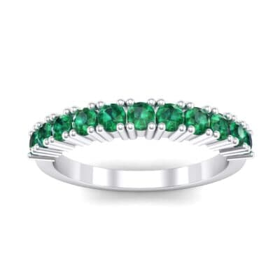 Arielle Prong-Set Emerald Ring (0.44 Carat)