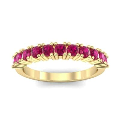 Arielle Prong-Set Ruby Ring (0.44 Carat)
