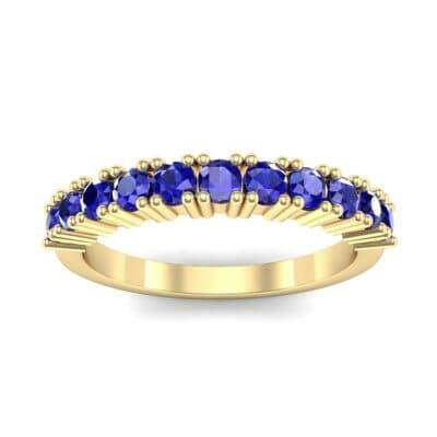Arielle Prong-Set Blue Sapphire Ring (0.44 Carat)