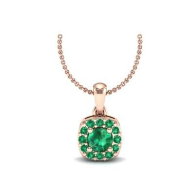 5588 Render 1 01 Camera1 Stone 1 Emerald 0 Floor 0 Metal 2 Rose Gold 0 Emitter Aqua Light 0