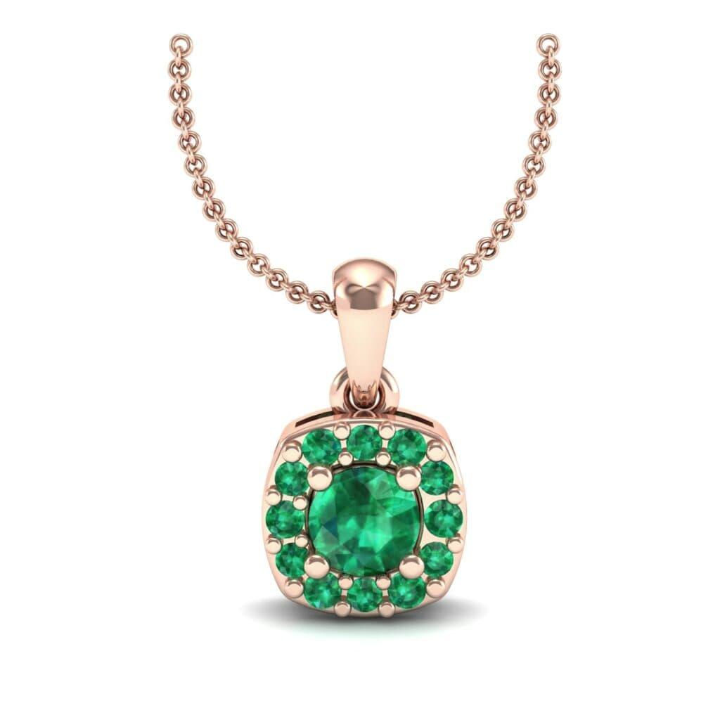 5588 Render 1 01 Camera2 Stone 1 Emerald 0 Floor 0 Metal 2 Rose Gold 0 Emitter Aqua Light 0