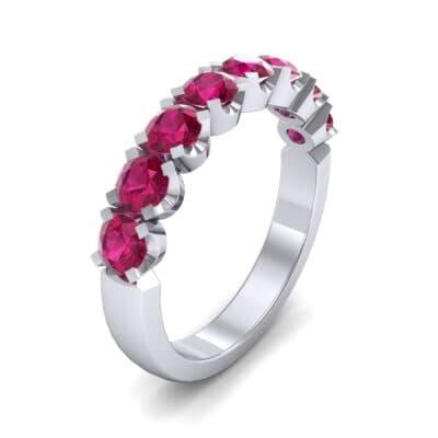 Coronet Ruby Ring (0.52 Carat)